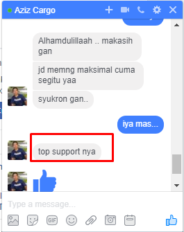 top supportnya