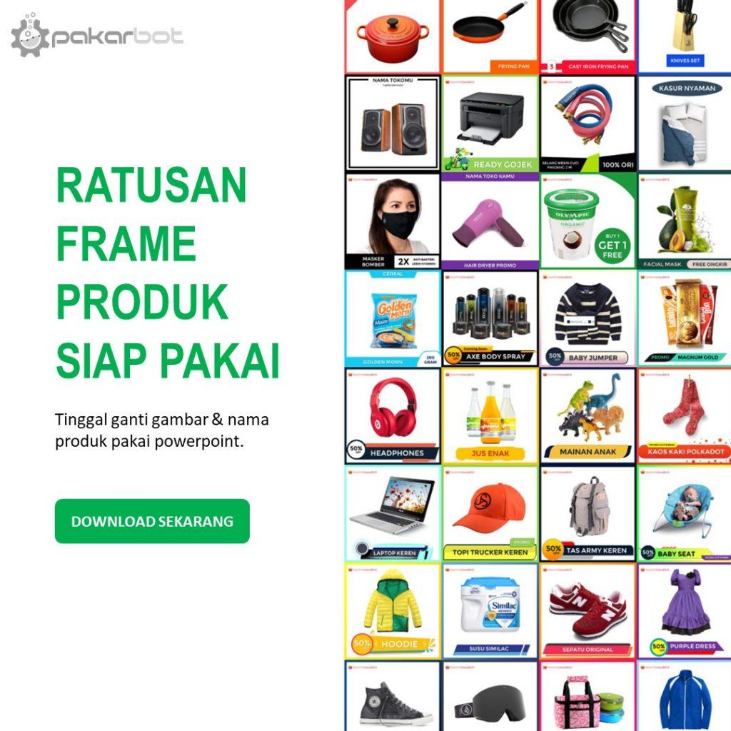 frame produk